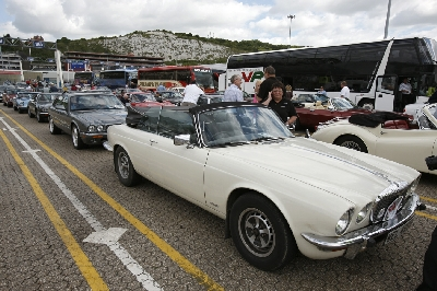 Jaguar XJs at Dover