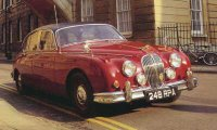 Jaguar Mark 2 from Inspector Morse  tv series