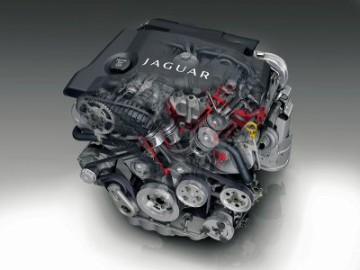 Jaguar XJ diesel engine